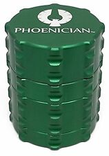 Phoenician Herbal Grinder - Small 4 Piece - Green
