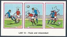 PANINI FOOTBALL 83-#511-LAW 12-FOULA AND MISCONDUCT