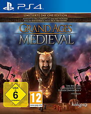 Grand Ages: Medieval PS4 Sony PlayStation 4 Spiel Strategie und Aufbau TOP Game