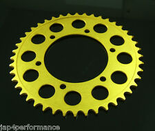 Yamaha R3 R25 TYGA CNC gold rear sprocket 45T