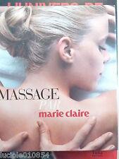 Massage par Marie-Claire  Kiné Ayurvedique Réflexologie Californie Japon