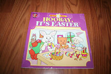 Bunny Tales Hooray, It's Easter child's paperback book VGUC