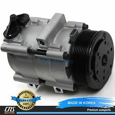 NEW A/C AC Compressor w/ Clutch 58149 FS10 for 97-03 Ford Lincoln 4.6L 5.4L 6.8L