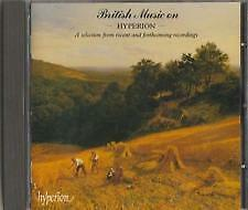 C.D.MUSIC A216   BRITISH MUSIC ON - HYPERION VARIOUS ARTISTS    CD