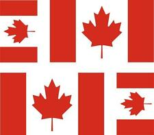 4 x flag decals sticker bike scooter car vinyl helmet motorcycle canada