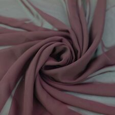40+ Colors !Hi-Multi Chiffon Fabric by the Yard 70 GSM- Style