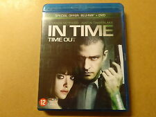 2-DISC BLU-RAY + DVD / IN TIME: TIME OUT (JUSTIN TIMBERLAKE)