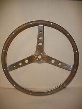"""antique vintage steering woodwheel wood wheel 15"""""""
