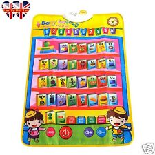 Musical Carpet, Play Mat, ABC English Learning Carpet