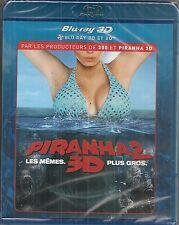 """Piranha 2 - Blu-ray 3D"" - NEUF SOUS BLISTER"