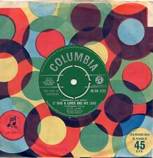 CLEO LAINE it was a lover and his lass*o mistress mine 1961 UK COLUMBIA 45