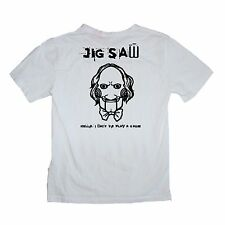 Jigsaw Killer Saw Horror I want to play a game Shirt -Sizes S-XL Various Colours