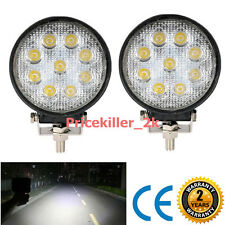 27W 6000K Cree Spot Led Work Light Bar Tractor Truck Offroad Fog SUV ATV 4WD