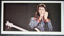 Paul McCartney    Beatles   1970's Wing's    Photo Card  # EXC