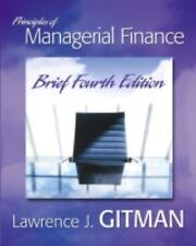 NEW - Principles of Managerial Finance Brief (4th Edition)