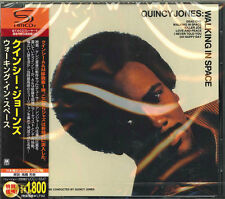 QUINCY JONES-WALKING IN SPACE -JAPAN SHM-CD D50