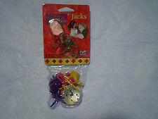 1996 HUNCHBACK OF NOTRE DAME JACKS AND BALLS,Quasimodo,Esmeralda,disney,maui toy