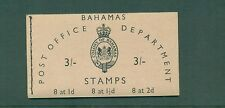 Bahamas 1961 3sh Booklet with inverted panes SB2