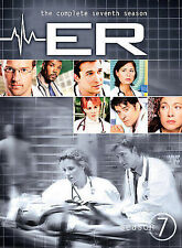 ER - The Complete Seventh Season (DVD, 2007, 6-Disc Set) NEW & SEALED