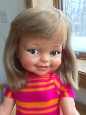 "Ideal Giggles Doll 18"" Original Outfit!! NICE!!!  1967"