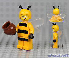 LEGO Series 10 - Bumblebee Girl Minifigure (from keychain) Minifig Honey Pot