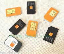 Official ORANGE - Network Mobile Pay As You Go Micro / Standard SIM PAYG 4G UK