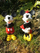 LATEX MOULD MOULDS MOLD.   STANDING MICKEY AND MINNIE MOUSE  (2017)