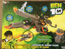 Ben 10 Vilgax Battle Ship Playset - Brand new in box