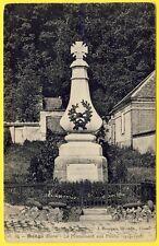 """cpa RARE 27 - DANGU (Eure) Le MONUMENT aux MORTS 1914-1918 """"Aux Héros de DANGU"""""""