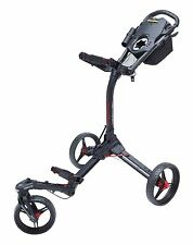 Bag Boy Tri-Swivel 2.0 3-Rad Golftrolley Farbe: Black/Red Neu!