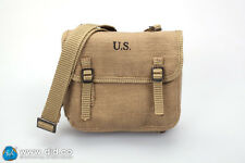 """DiD Donald WW2 2nd Armored Div. """"Hell on Wheels"""": Musette Bag 1/6 scale"""
