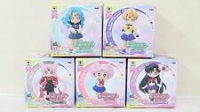 Sailor Moon Atsumete figure for girls 3 & 4 Set Black Lady Uranus Pluto Neptune