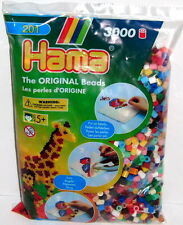 3000 HAMA Bügelperlen Set Gemischte Farbe Nr 67 Perlen Bastelset NEU OVP