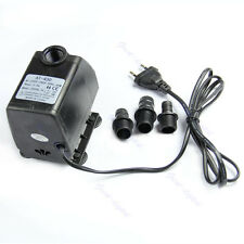 Aquarium Water Pump Submersible Fountain Air Fish Tank EU Plug 220V 45W 2500L/H