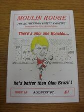 1997/1998 Rotherham United: Fanzine - Moulin Rouge, From The Makers Of The Scrap