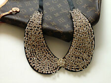 Fashion gold seed beads peter pan collar necklace- ship from US