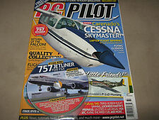 NEW PC PILOT 77 Jan-Feb 2012 Complete Guide to Flight Simulation CD Free SIM 757