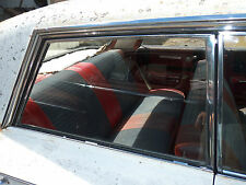** 61 BUICK CHEVY OLDS PONTIAC HARDTOP RIGHT REAR BACK DOOR GLASS WINDOW FRAME