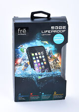 LifeProof FRE Waterproof Dust Water Proof Case for iPhone 6 iPhone 6s BLACK NEW