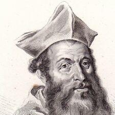 Portrait Jacques Sadolet Jacopo Sadoleto Modène Italie Renaissance Humanisme