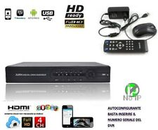 Dvr 8 Canali H264 HDMI Cloud High Quality Per iPhone Android Pc P2P Ip dinamico