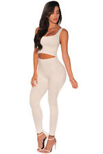 New off white cut out waist jumpsuit catsuit club wear party wear size 10-12