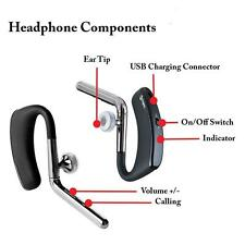 Stereo Wireless 4.1 Bluetooth Handsfree Headset Earphone for iPhone Samsung LG