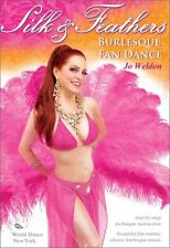 Jo Weldon: Silk & Feathers - Burlesque Fan Dance (2009, DVD NEW)
