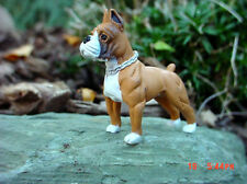 Boxer Dog Miniature Figure 1/24 Scale G Scale Diorama Accessory Item