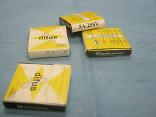 Lot of Electrey, S.A. DE C.V. Difus 5A, 250V Fuses.  Qty. 20.  New Old Stock.
