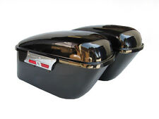 Hard Saddlebags for Honda VTX1300 VTX1800 - Smooth Face