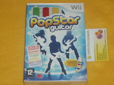 POPSTAR GUITAR con AIR G.  Nintendo Wii  POP STAR NUOVO