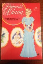 Princess Diana Fashion Collection Dressing Paper Doll Activity Book Rare