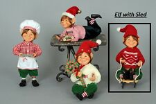 KAREN DIDION ORIGINALS CC0902D Elf with Sled